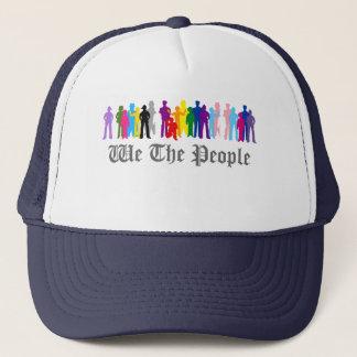 LGBT oss folket designtruckerkeps Keps