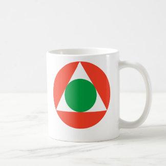 Libanesiskt flygvapen Roundel Kaffemugg