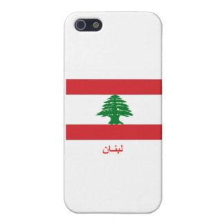 Libanon flagga iphone 5 hud