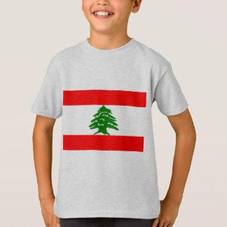 Libanon flagga t-shirts