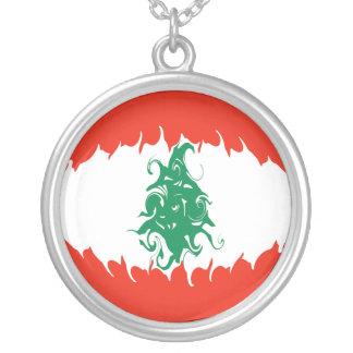 Libanon Gnarly flagga Halsband