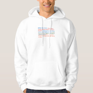 Liberal person hoodie