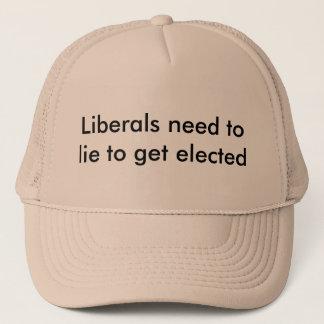 Liberal personbehov att ljuga truckerkeps