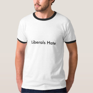 Liberal personhat t shirt
