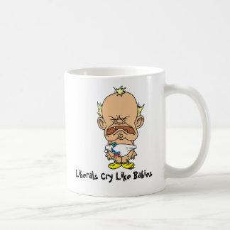 Liberal personskrikmugg kaffemugg
