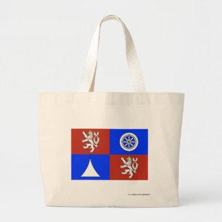 Liberec flagga tygkassar