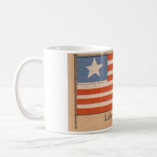 Liberia flaggamugg kaffemugg