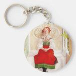 Libeth i henne Sundborn klänning Nyckel Ringar