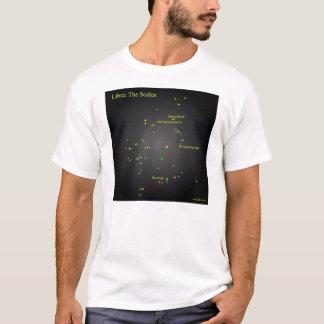 Libra The Scales konstellation Tee Shirt