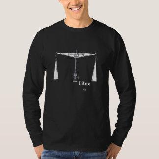 LibraT-tröja med text och skåra Tee