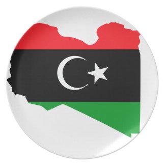 libya tallrikar