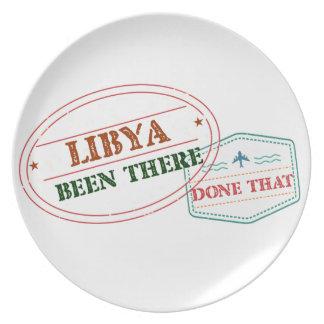 Libyen där gjort det tallrikar