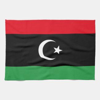 Libyen flagga kökshandduk
