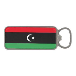 Libyen flagga öppnare med magnet