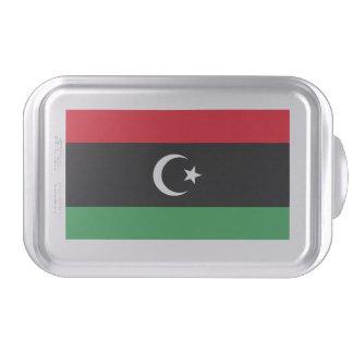 Libyen flagga tårtplåt