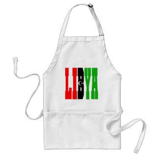 Libyen Förkläde