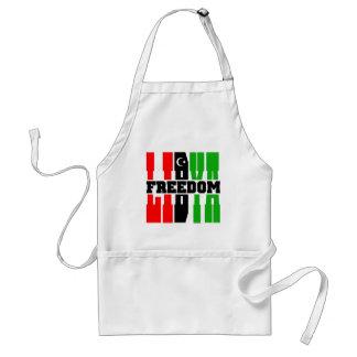 Libyen frihet förkläde