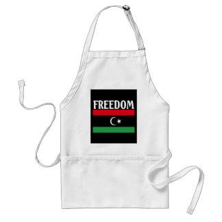 Libyen frihetsflagga förkläde