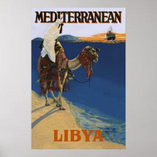 Libyen reser affischen poster
