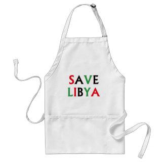 Libyen - spara Libyen Förkläde