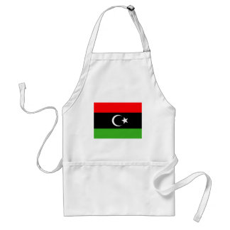Libyererrebellflagga Förkläde