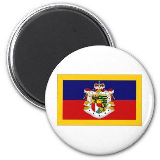 Liechtensteinskt Princely standart Magnet