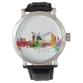 Liege Belgien horisont Armbandsur