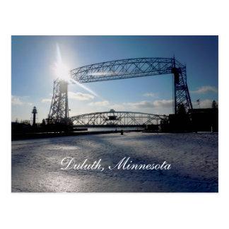 Liftbridge Duluth, Minnesota Vykort