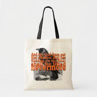 LiftedNevermoreRaven-100%CottonTotebag Budget Tygkasse