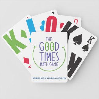 Liga för bratidMath - leka kort Spelkort