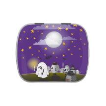Liga för Halloween igelkottparty Jelly Belly Godisburk