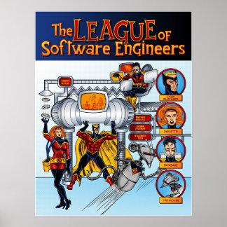 Ligan av softwareingenjörer poster