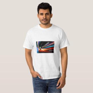 Light rusar den Millennial T-tröja T Shirt