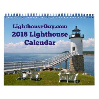 LighthouseGuy.com fyrkalender 2018 Kalender