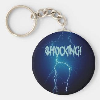 Lightning4 som CHOCKAR! Rund Nyckelring