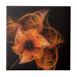 Lightworks belägger med tegel abstrakt konst kakelplatta