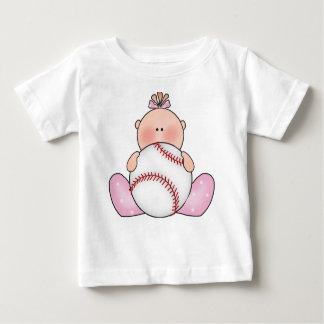Lil baseballflicka t shirts