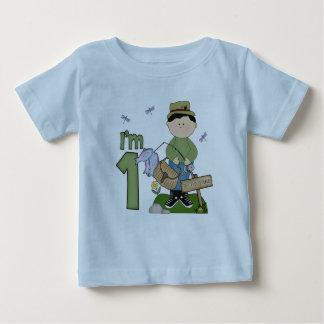 Lil Fishingman 1st födelsedag T-shirt