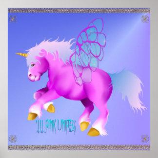 'Lil rosa Unipeg affisch