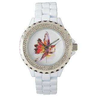 """Lil rött"" Hummingbirdtryck Armbandsur"