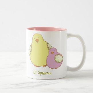 Lil Sparrowmugg Två-Tonad Mugg