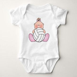 Lil volleybollflicka tee shirt