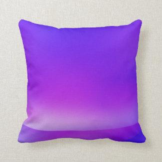 Lila-/blåttabstrakt kudder kudde