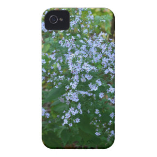 lila blommor iPhone 4 hud