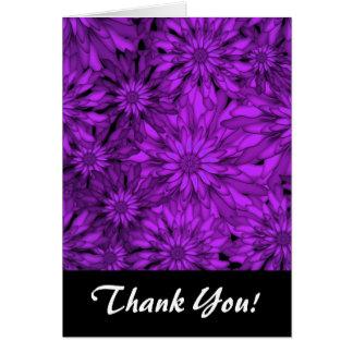 Lila blommorDigital konst OBS Kort