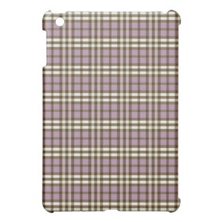 Lila-/chokladpläd Pern iPad Mini Mobil Skal