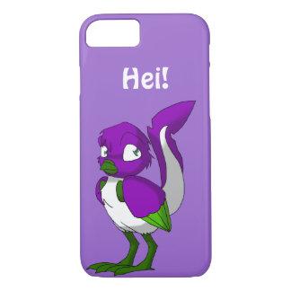 Lila-/grönt-/vitReptilianfågel Hei