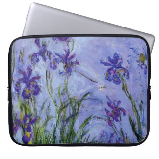 Lila Irises, 1917 Laptop Sleeve