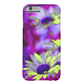 Lila- och gultdaisyiphone case barely there iPhone 6 fodral