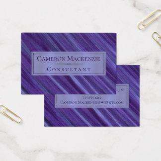 Lila plommon | för likgiltig lavendel för kontor | visitkort